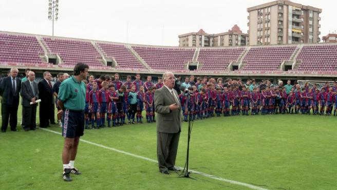 Josep Mussons, exvicepresidente del FC Barcelona.