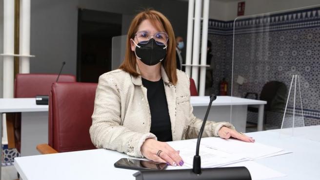 La diputada del PP, Isabel María Ruiz Sánchez