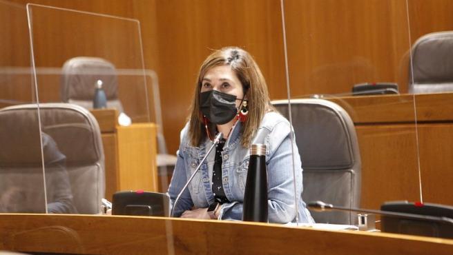 La portavoz en Sanidad de Cs en las Cortes de Aragón, Susana Gaspar.