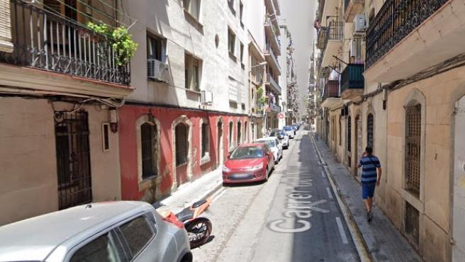 Imagen de archivo de la Calle del Mar, en Barcelona.