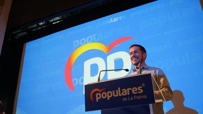Mariano H. Zapata, presidente del PP de La Palma