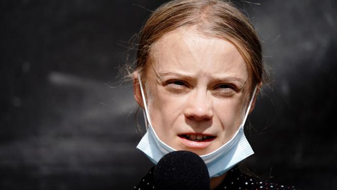 Imagen de archivo de la activista sueca Greta Thunberg.