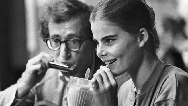 Woody Allen y Mariel Hemingway en 'Manhattan'
