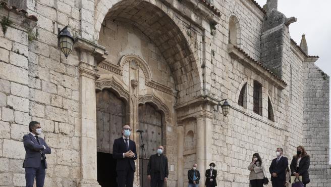 Presentación en Simancas de la intervención llevada a cabo en la capilla de los Gallo Andrada.