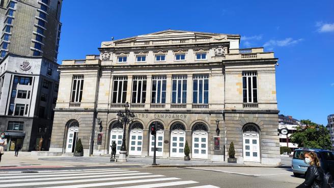 Teatro Campoamor, en Oviedo.