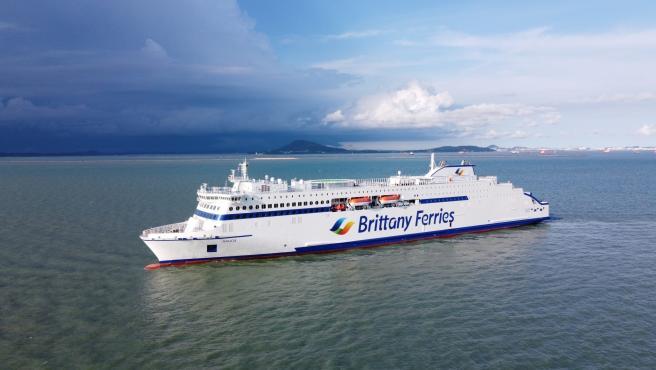 Archivo - Buque Galicia de Brittany Ferries