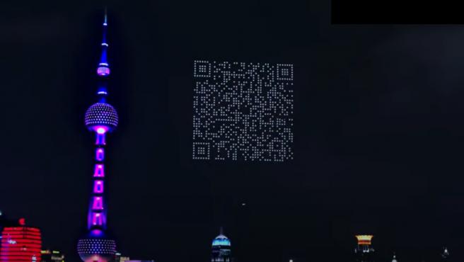 Al capturar el código QR, se abrió un enlace para que los usuarios pudiesen descargarse el juego.