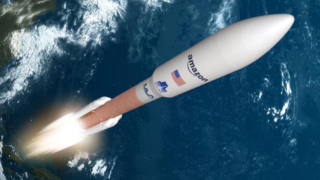 Amazon ha llegado a un acuerdo con United Launch Alliance y lanzará 9 cohetes Atlas V