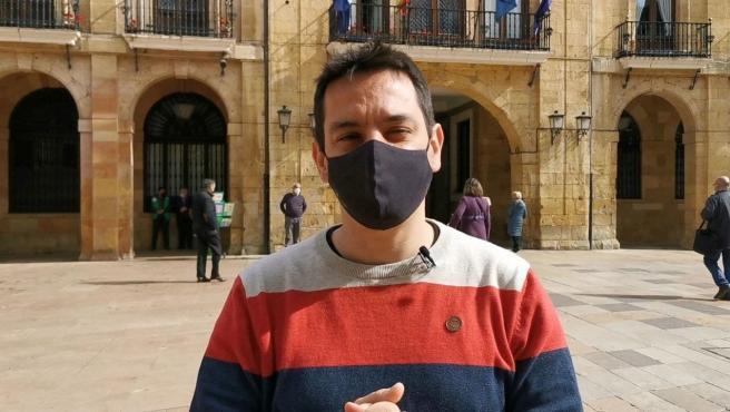 El concejal de Somos Oviedo, Ignacio Fernández del Páramo.