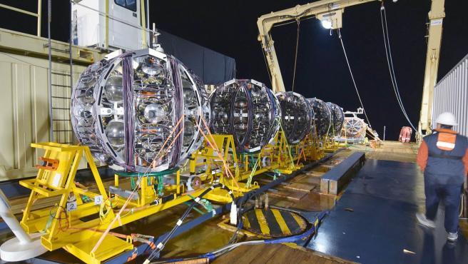 El telescopio de neutrinos KM3NeT/ARCA