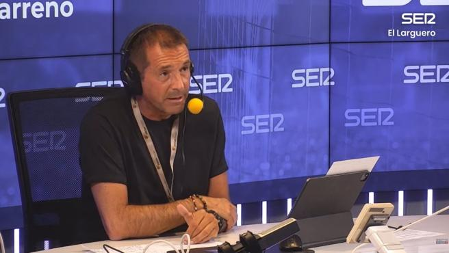 Manu Carreño, presentado de El Larguero.