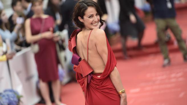 La actriz Mónica Estarreado.