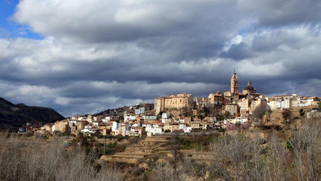 Vista del municipio de Chelva, en Valencia.