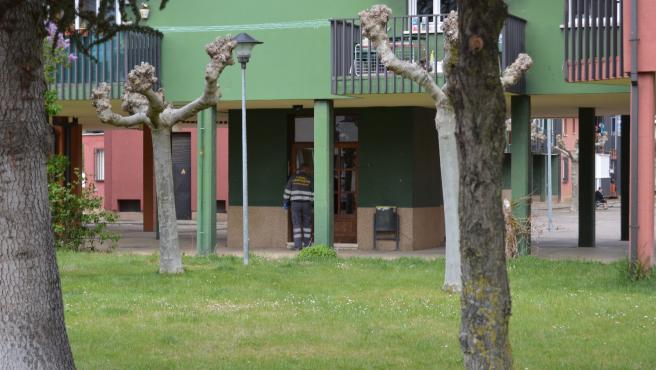 Vivienda donde sucedieron los hechos en Mansilla de las Mulas (León).