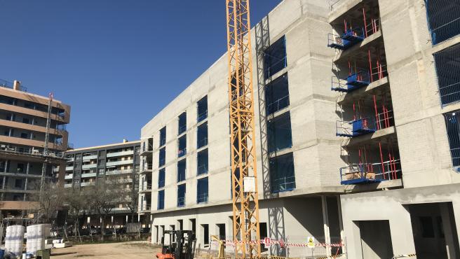 Archivo - Obras, construcción, vivienda nueva