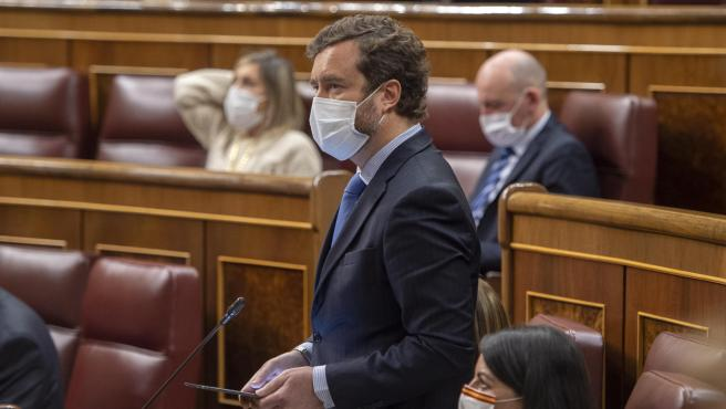 Espinosa de los Monteros, en el Congreso.