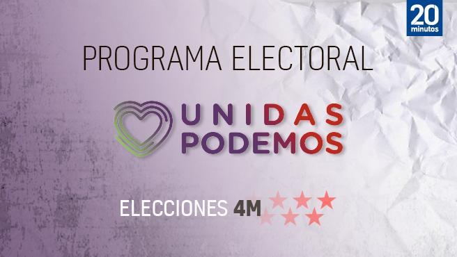 Programa electoral de Podemos