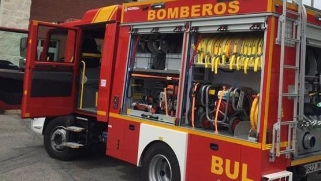 Archivo - Recurso de coche de bomberos en Andalucía