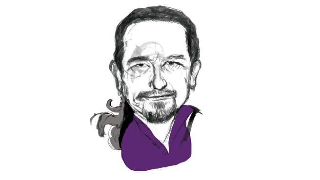 Ilustración de Pablo Iglesias.