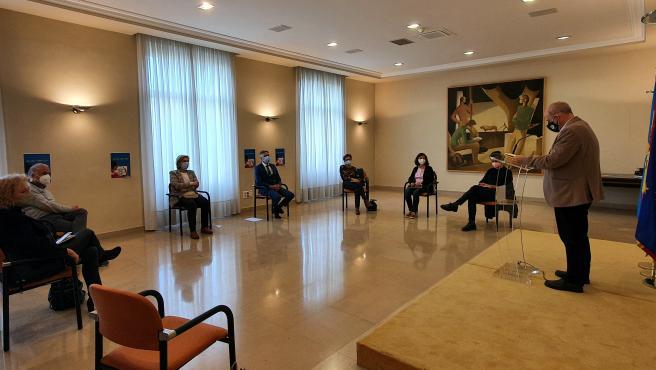 Acto en la Delegación del Gobierno con motivo del Día del libro