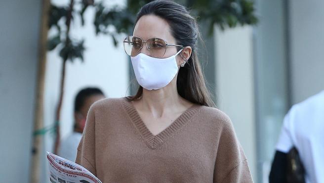 Angelina Jolie en Los Ángeles.