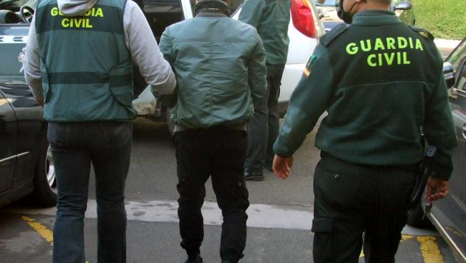 Imagen del individuo detenido