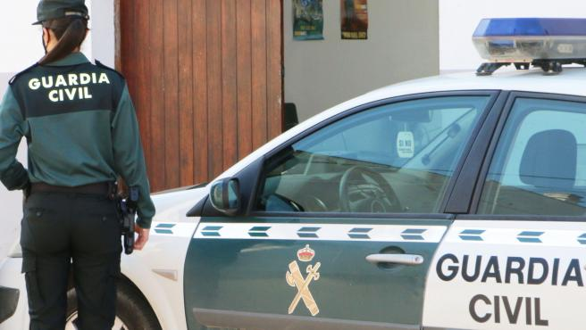 Archivo - Coche de la Guardia Civil.