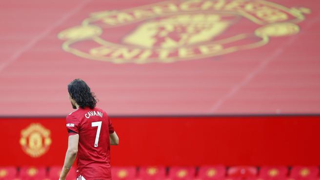 Edinson Cavani, jugador del Manchester United.