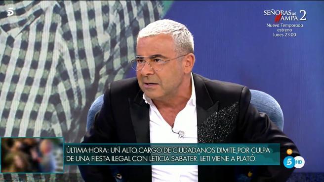Jorge Javier Vázquez, en 'Sábado Deluxe'.