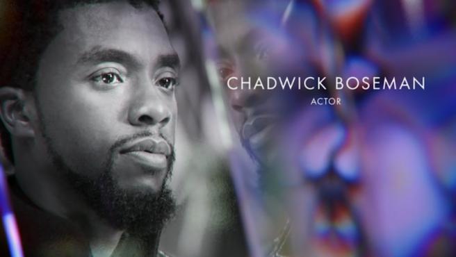 Chadwick Boseman en el In Memoriam de los Oscar 2021