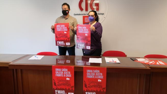 La CIG llama a volver a tomar las calles este 1 de mayo, al igual que UGT y CC.OO.