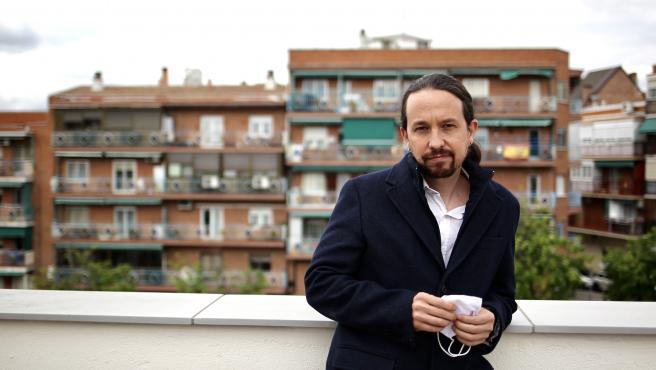 Pablo Iglesias, entrevistado por 20minutos