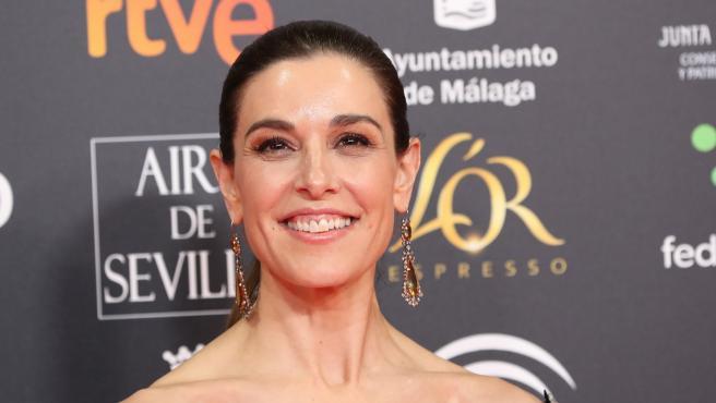 Raquel Sánchez Silva en la gala de los Premios Goya en 2020.