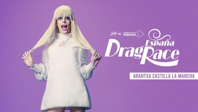 Arantxa Castilla-La Mancha, concursante de 'Drag Race España' 2021.