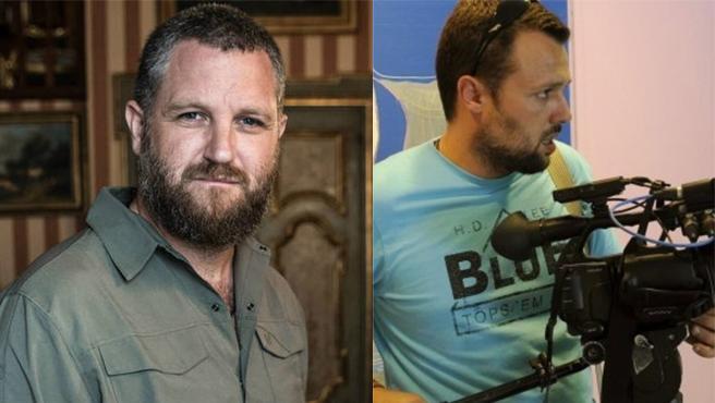 David Beriain y Roberto Fraile, periodistas asesinados en Burkina Faso.