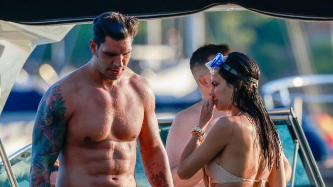 Diego Matamoros y Carla Barber este verano.
