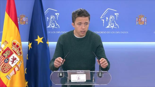 Errejón espera que todos los candidatos de izquierda se incorporen al Madrid
