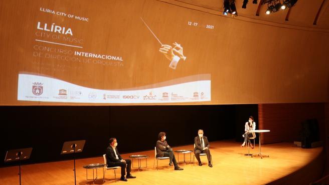 Llíria (Valencia) visibiliza las jóvenes batutas con el I Concurso Internacional de Dirección de Orquesta