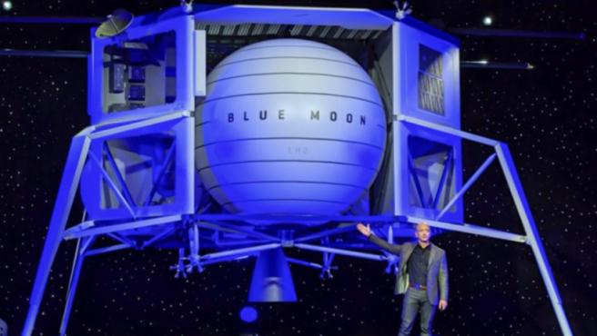 La NASA dotó a Blue Origin de 579 millones de dólares para sacar el proyecto adelante, pero al final se ha decantado por SpaceX.