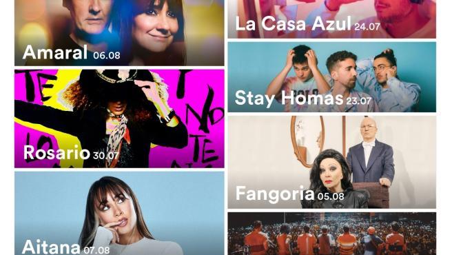 El Festival Sons del Món de Roses (Girona) tendrá a Amaral, Rosario, Stay Homas y Aitana