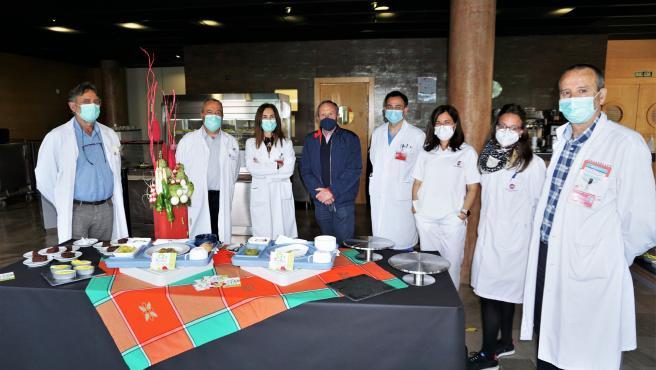 El Hospital de Tudela celebra las jornadas de Exaltación de la Verdura con menús especiales para sus pacientes