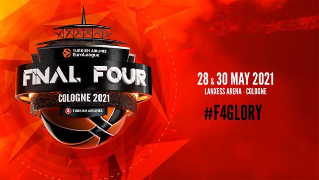 Póster de la Final Four de la Euroliga 2021.