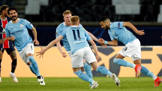 El Manchester City remonta al PSG y se acerca a su primera final de Champions