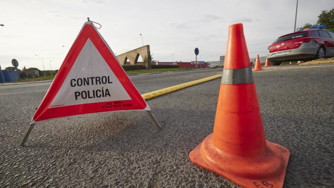 Medidas de confinamiento de la poblacion de eralta, donde solo existen dos accesos abiertos con control de Policia Foral y Guardia Civil, por el Covid 19