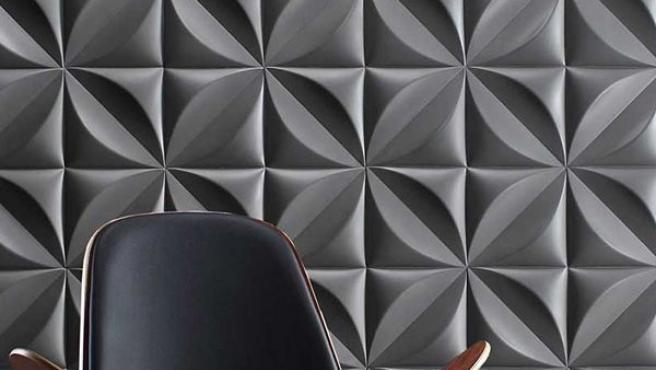 Los paneles 3D son una excelente opción para darle protagonismo a cualquier pared.
