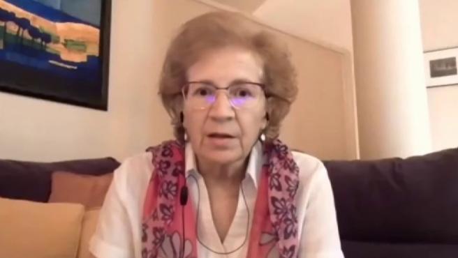 """Margarita del Val: """"Si Pfizer no proporciona una inmunidad adecuada, deberíamos vacunar con otras vacunas"""""""