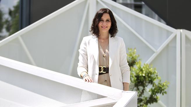 Isabel Díaz Ayuso, candidata a la presidencia de la Comunidad de Madrid