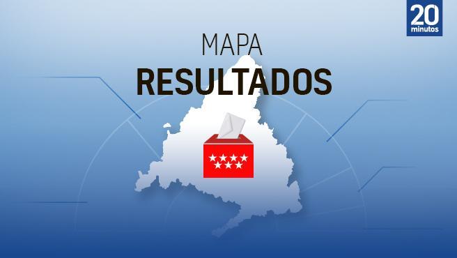 Mapa de resultados de las elecciones en Madrid 2021 (WIDGET METIDO) (¿tendremos mapa?