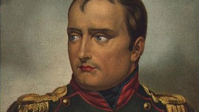 Napoleon I Bonaparte retratado por el artista Horace Vernet.