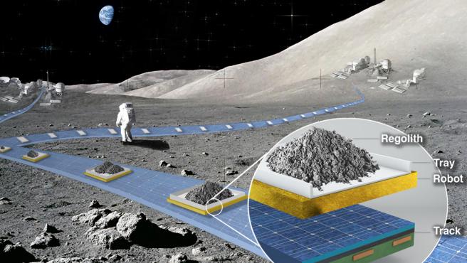 FLOAT será la clave para el desarrollo de una base lunar sostenible que la NASA quiere crear para la década de 2030.